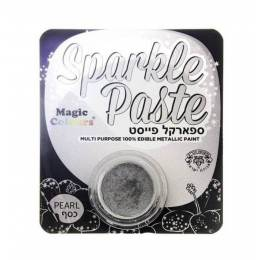 Peinture métallisée Blanc Sparkle Paste MAGIC COLOURS