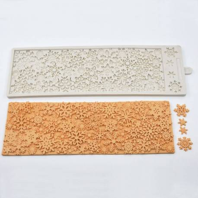 Silicone Snowflake Mat
