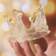 Silicone mould fancy crown