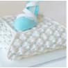 Moule en silicone effet tissu drapé