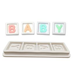 Moule en silicone cubes baby