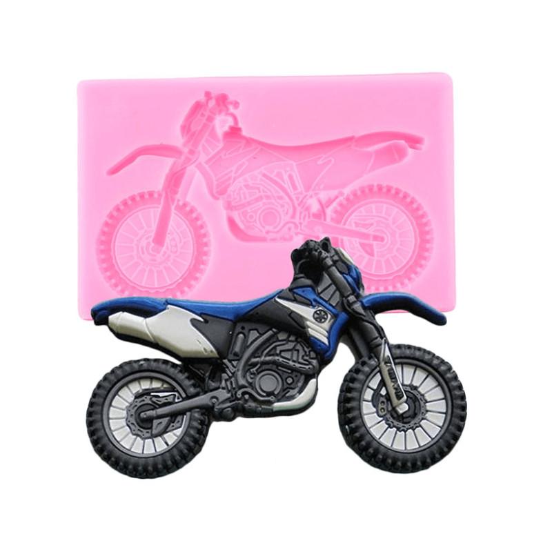 Moule Moto cross en silicone