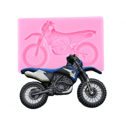Moule en silicone moto cross
