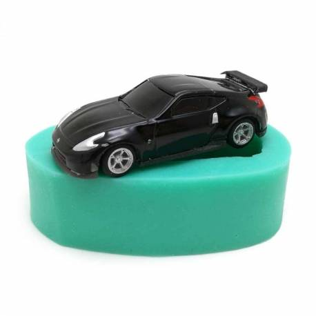 Silicone mould for sports cars