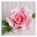 4 PINK flower cutters
