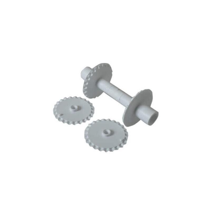 Roulette réglable à rubans et bandes