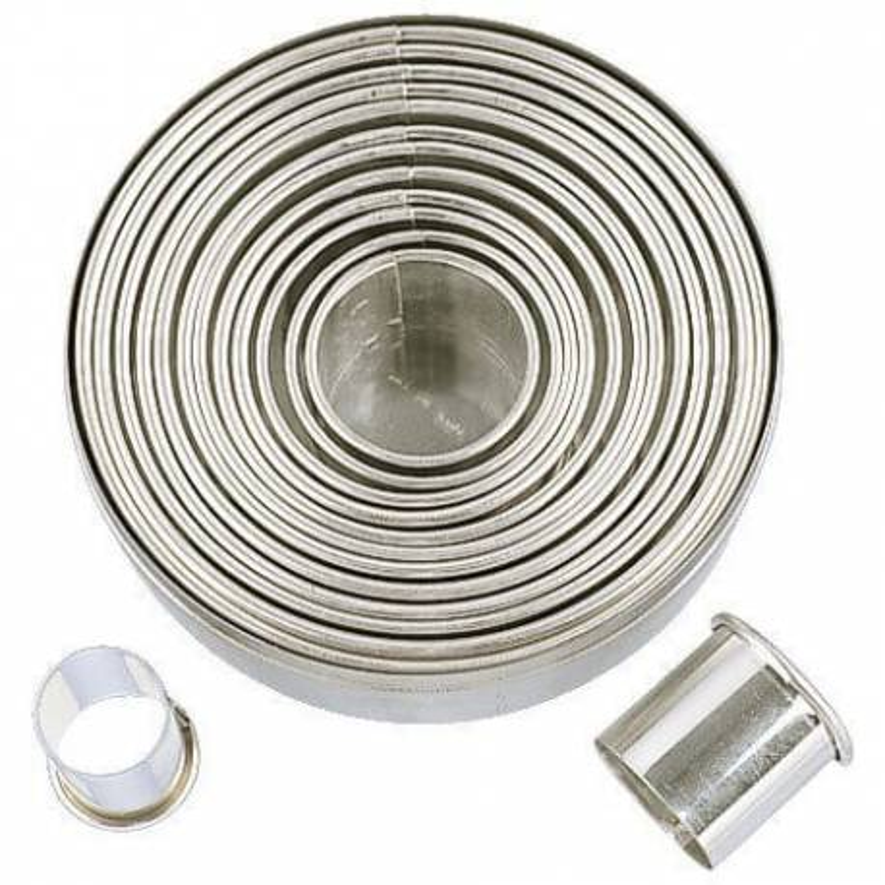Emporte pièces Rond en métal - 14 tailles