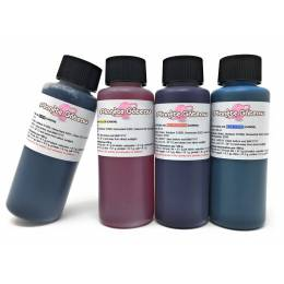 Set of 5 cartridges CANON edible ink filled
