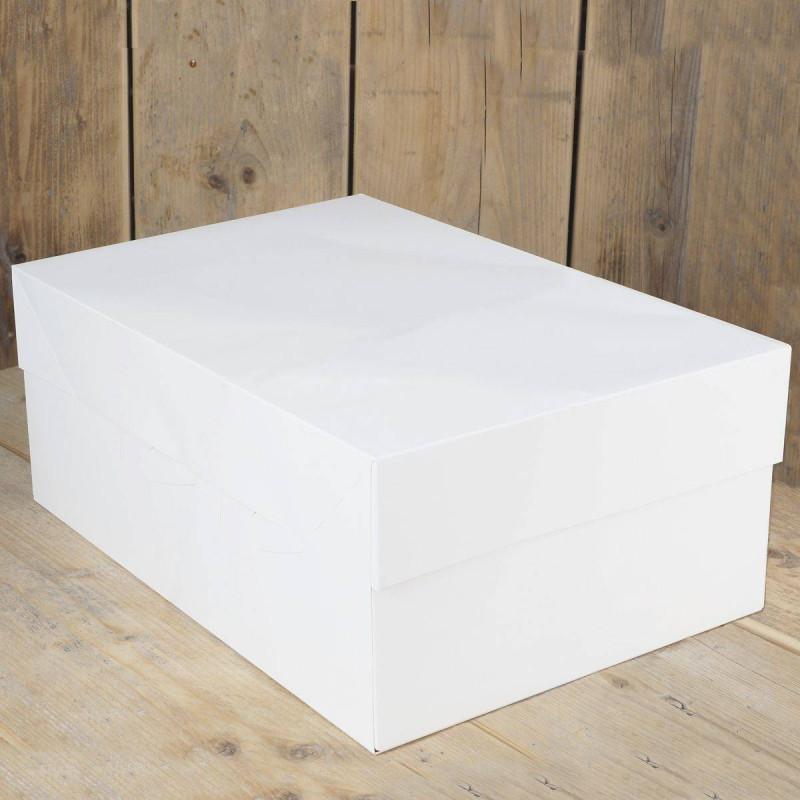 Rectangular cake box 40x30cm by 15cm high