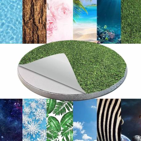 Self-adhesive decoration for Cake board - Nature
