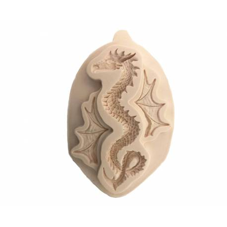 Silicone mould DRAGON 15cm with Wings