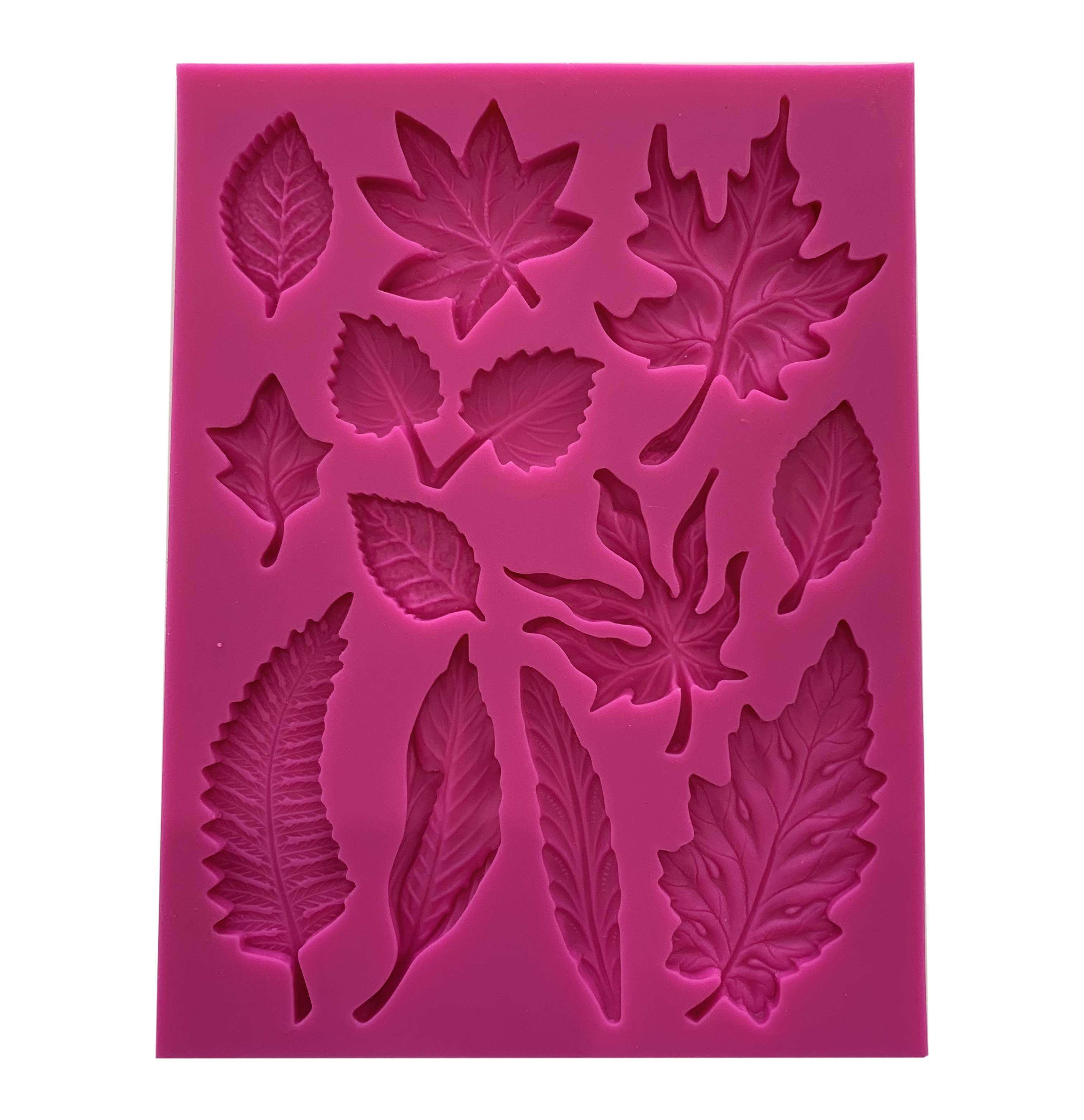 Tree leaf silicone mold jewelry mold craft mold clay mold ...  Plane Tree Leaf Silicone Molds