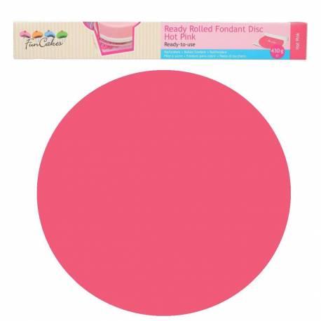 Sugar paste ready to use Intense Pink