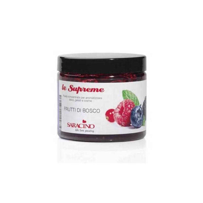 Pâte concentrée Le Suprême FRUITS DES BOIS Saracino 200G