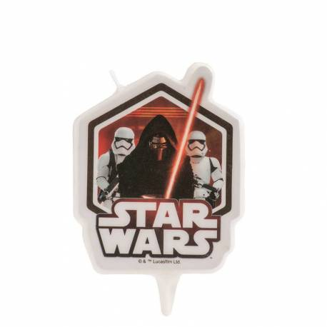 Candle STAR WARS in 2D of 7,5cm