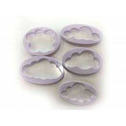 Cutter Clouds (set de 5)
