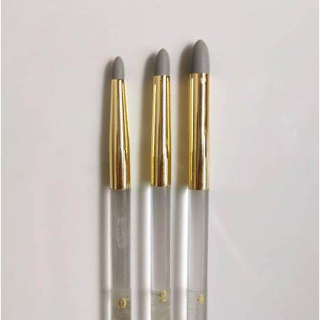 Set of 5 brushes gum for modeling