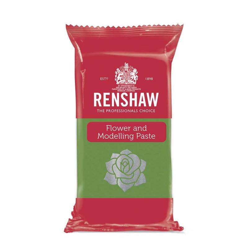 Pasta de flores y modelado Renshaw verde claro 250g