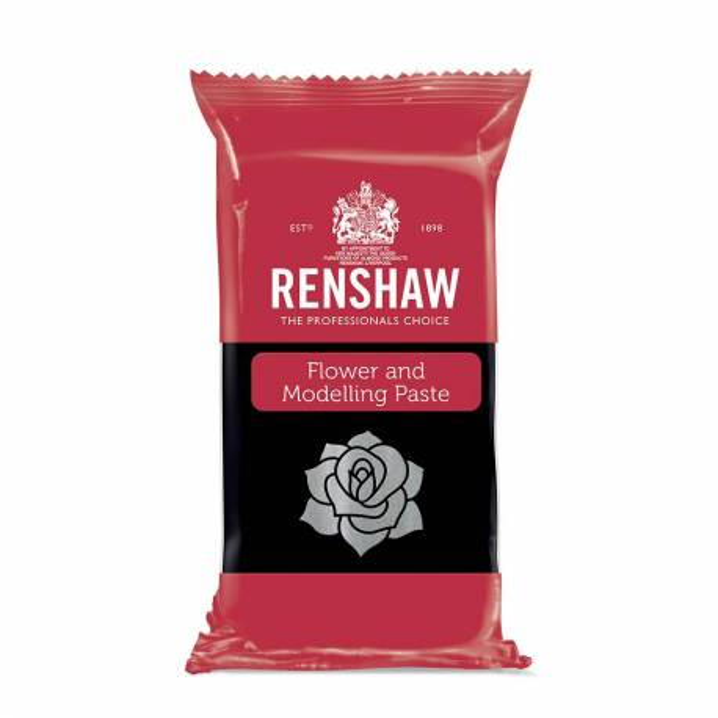 Pâte à fleurs et modelage Renshaw NOIR 250g