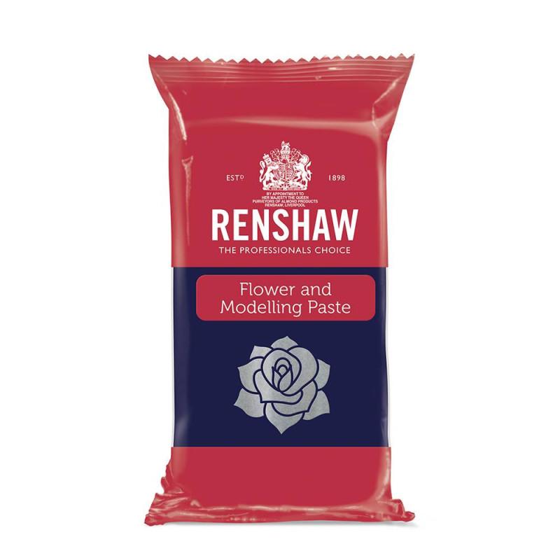Pâte à fleurs et modelage Renshaw BLEU FONCÉ 250g