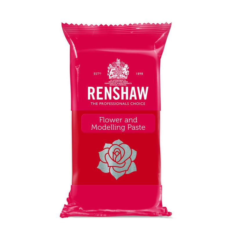 Pasta de flores y modelado Renshaw Rojo EYE EYE EYE 250g