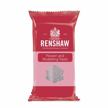 Flower paste and modelling Renshaw pink 250g