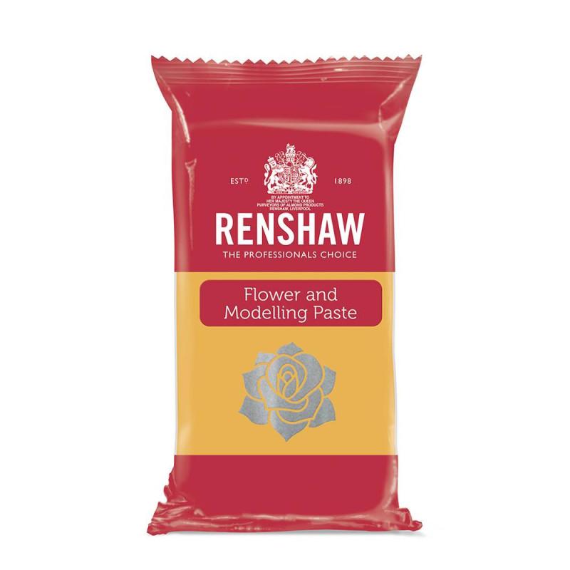 Pâte à fleurs et modelage Renshaw JAUNE 250g