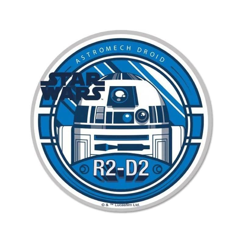 Edible wafer disc Star Wars robot R2D2