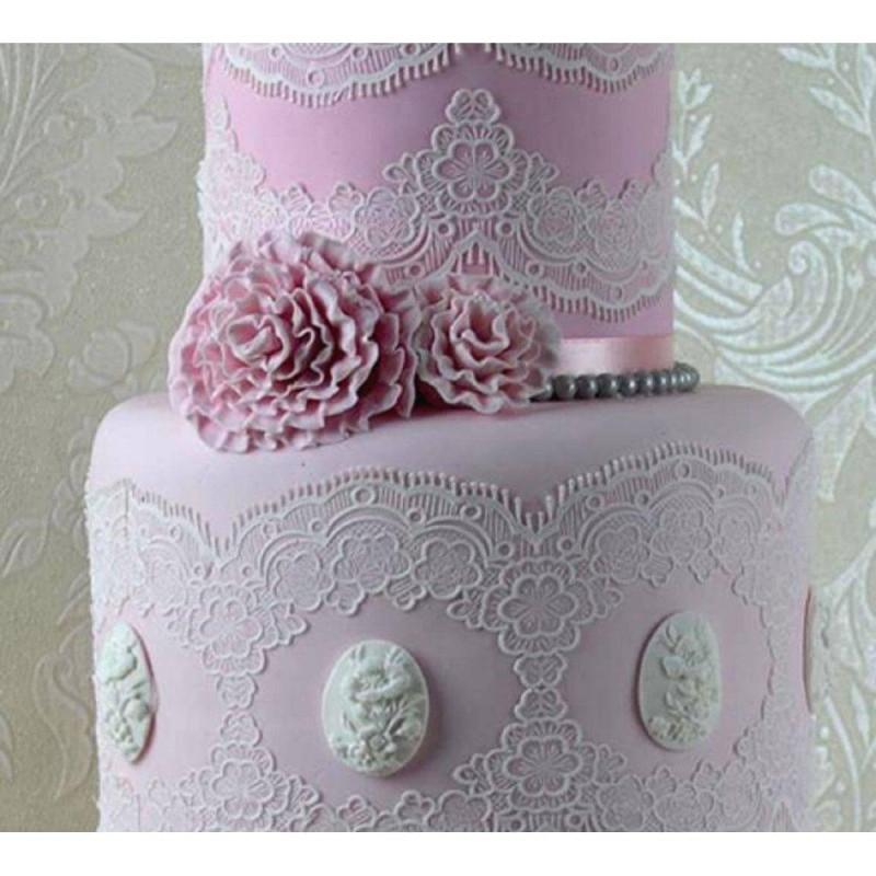 Tapis dentelle Cake Lace Tiffany 3D - Claire Bowman