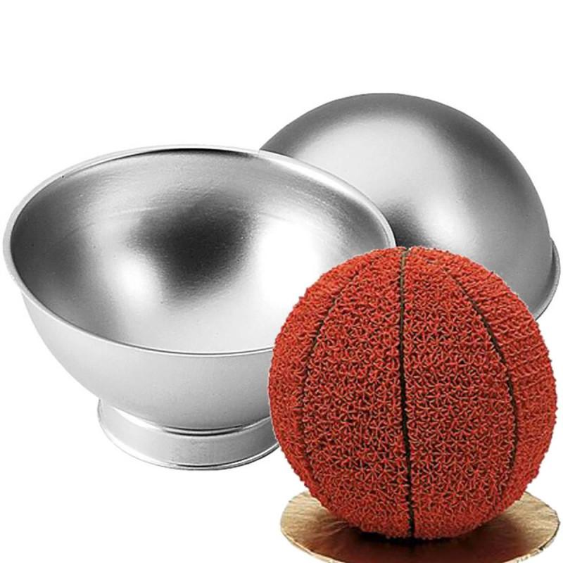 Moule gateau ballon de foot ou basket de 15cm - Wilton