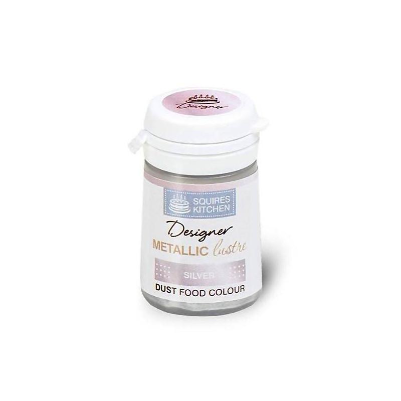 DARK SILVER Metallic Gloss Powder Colour - 4 g