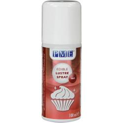 Spray nacré comestible ROUGE de 100ml