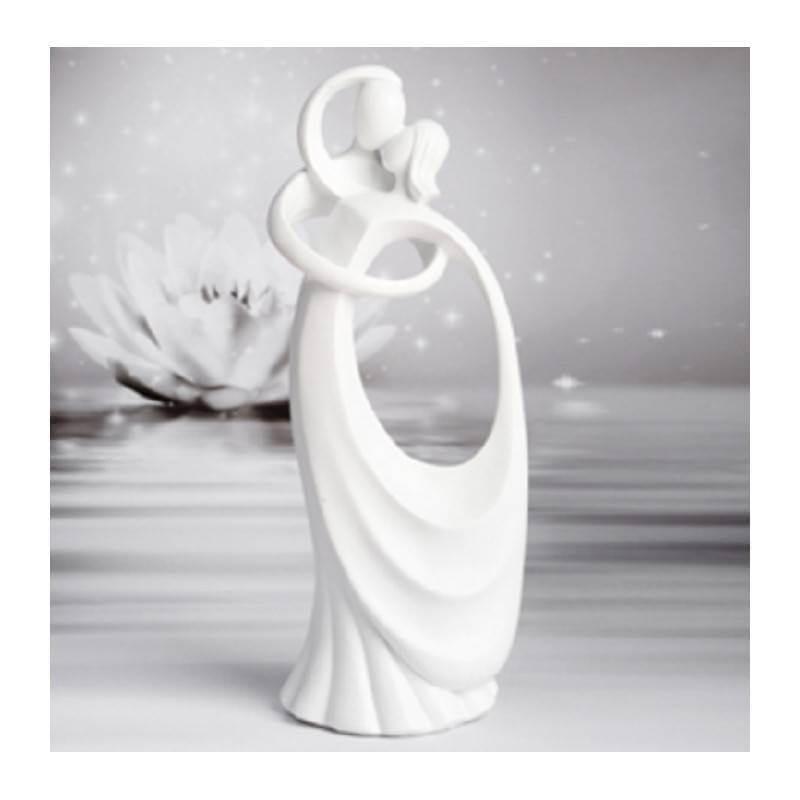 Subject Wedding Love Love Embrace white 24 cm