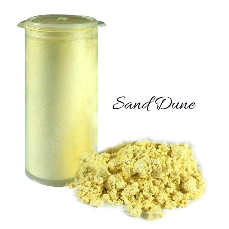 Colorant en poudre scintillant or sable Crystal Candy