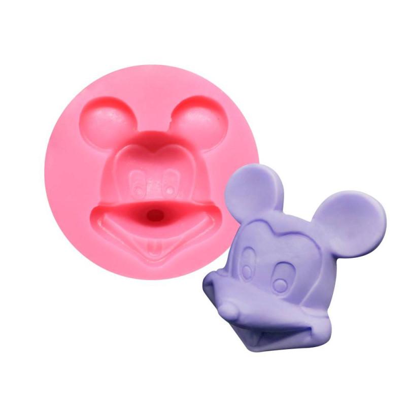 Moule tête de Mickey en 3D en silicone