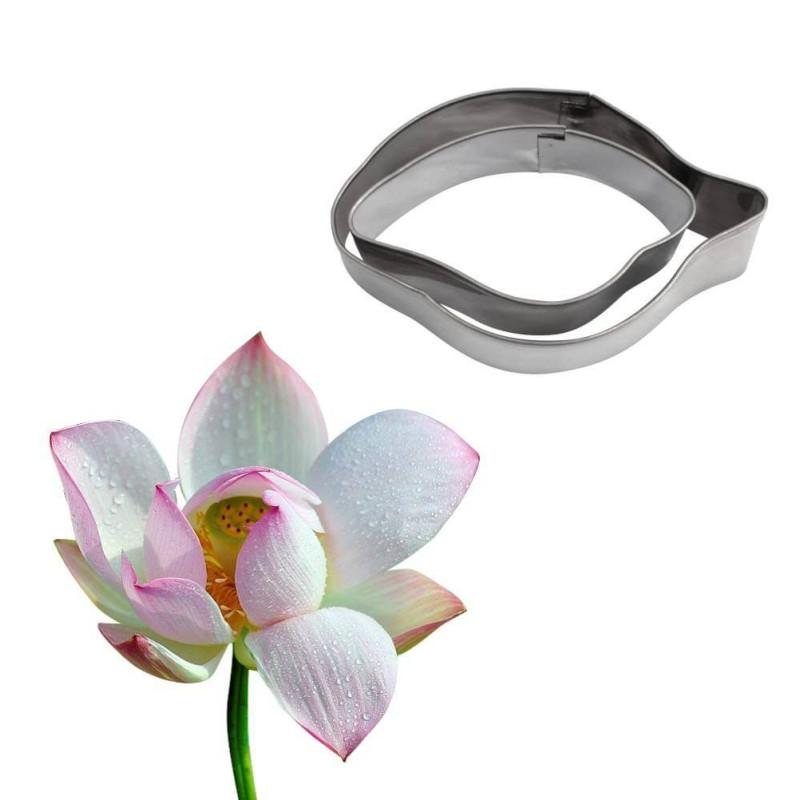 Set de 2 emporte-pièces fleur lotus magnolia