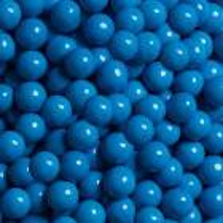 Billes de chocolat 10mm bleu poudré Sweetapolita 211g