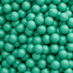 Billes de chocolat 10mm turquoise Sweetapolita 211g