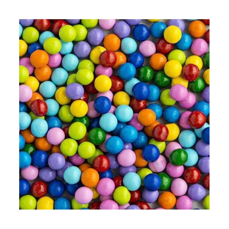 Grosses Billes chocolat multicolor 1cm Sweetapolita 106g