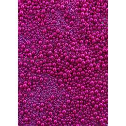 Billes luxe rose fushia 6-4-2mm Sweetapolita100g