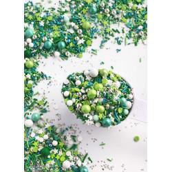 Sprinkles mezcla amor de bebé rosa blanco azul Sweetapolita 100g
