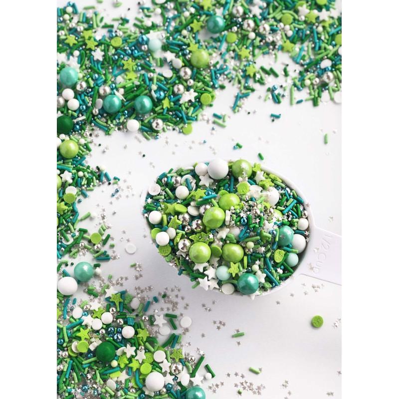 Sprinkles mix EMERALD de Sweetapolita 100 g