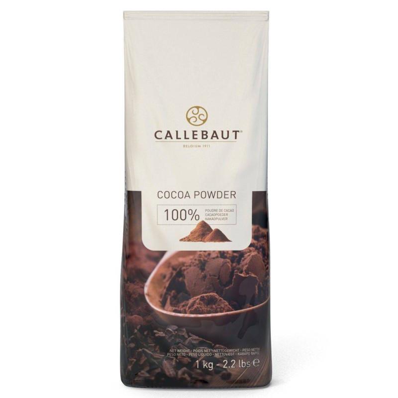 Cacao en Poudre 100% en 1 kg de Callebaut