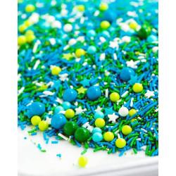 Sprinkles mix printemps vert et rose Sweetapolita 85g