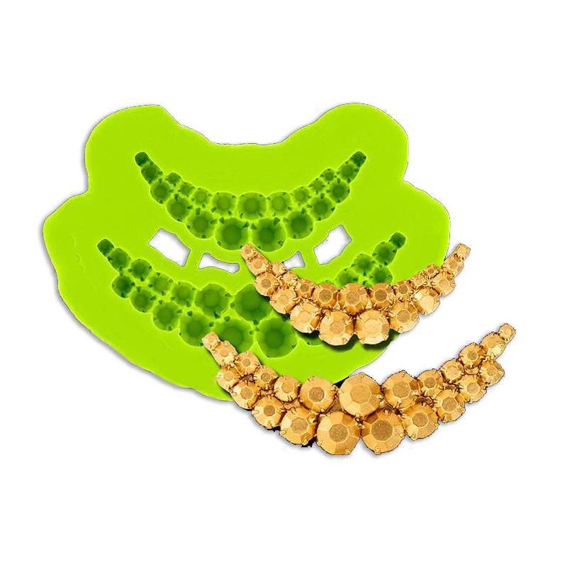 GUIRELANDIA molde de perlas y ornamentos
