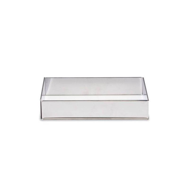 Marco rectangular expandible de pastelería