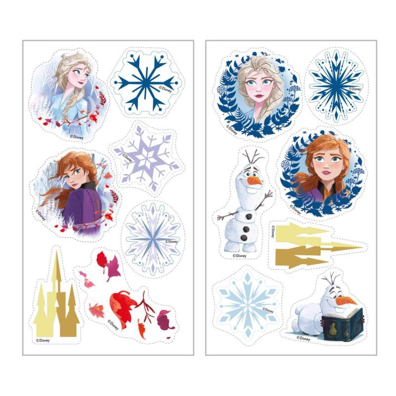 ANADEL AN53850 La Reine des neiges Lot de 4/gommes