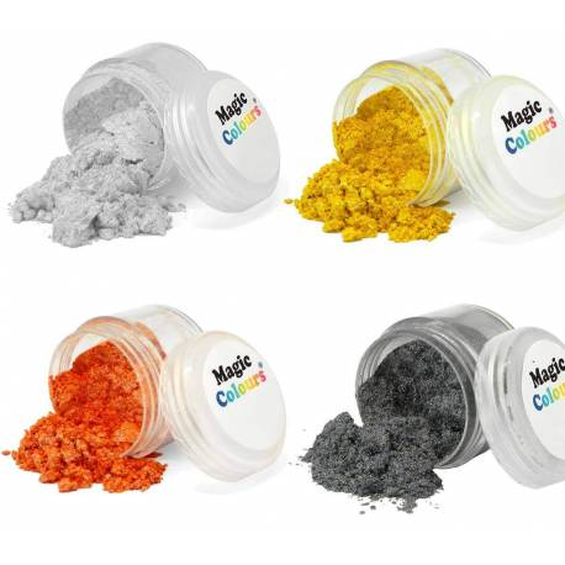 Tinte en polvo brillante Magic Colours