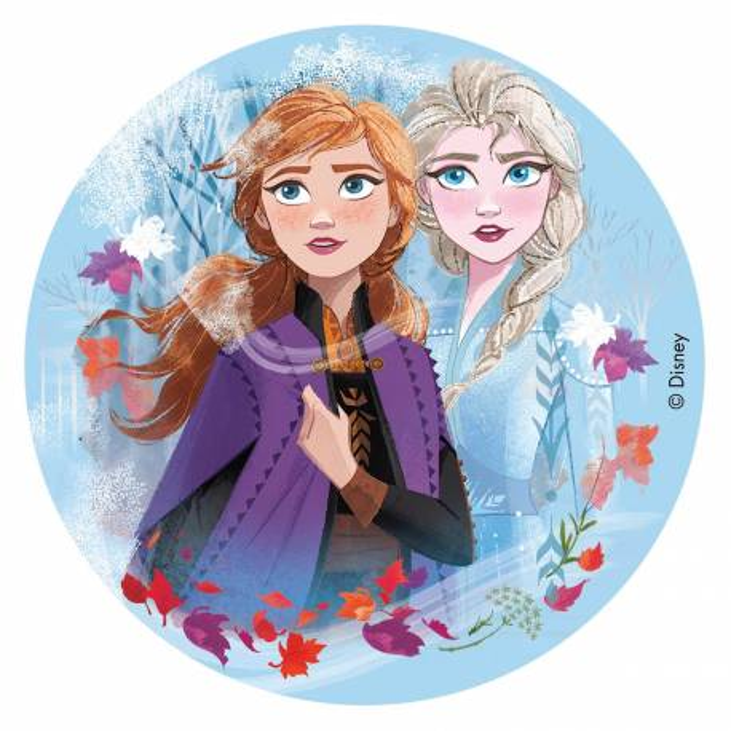 Edible disc Snow Queen 2 16 cm