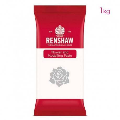 Flower and modelling paste white Renshaw 1 KG